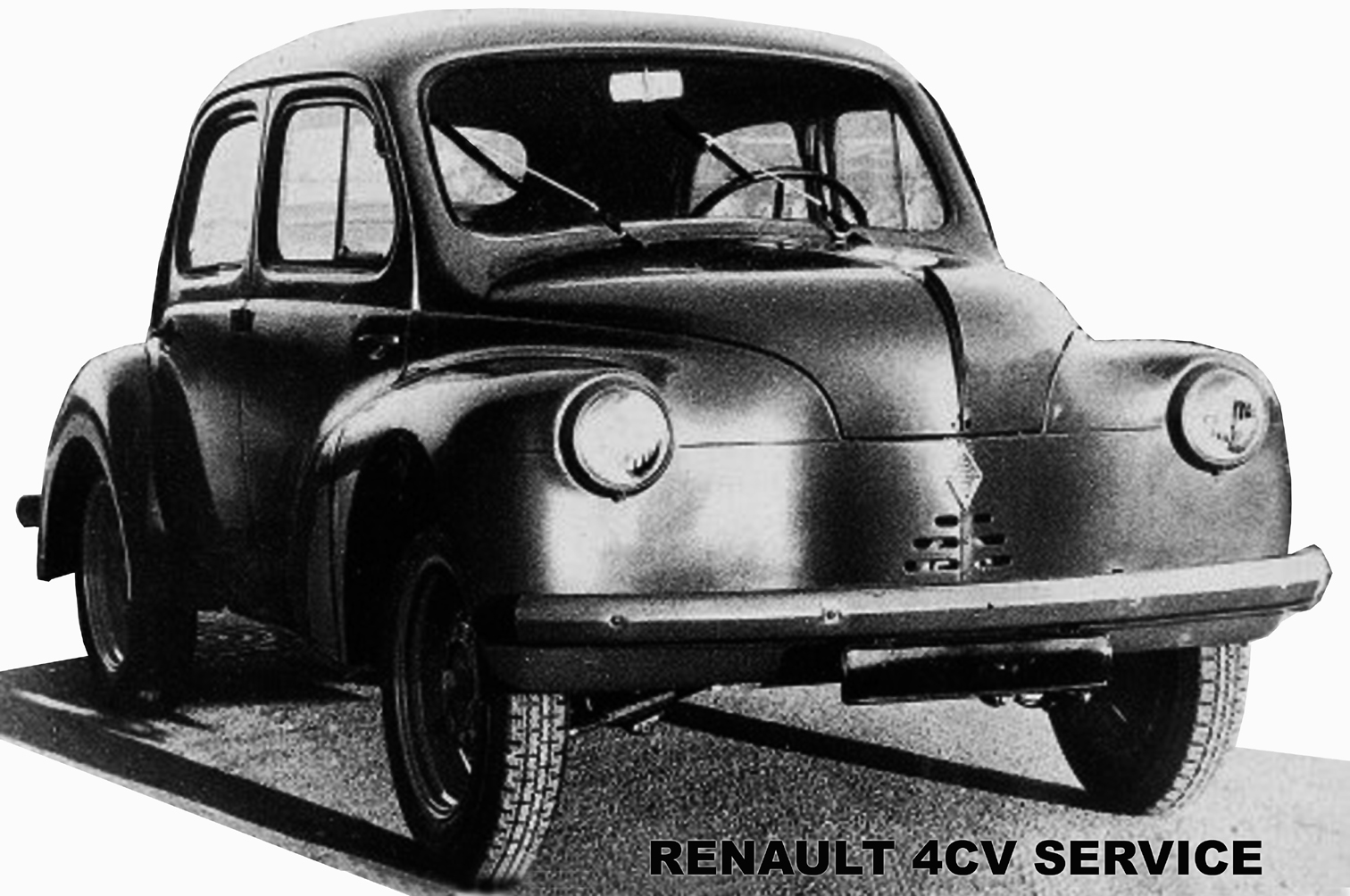 renault 4cv service